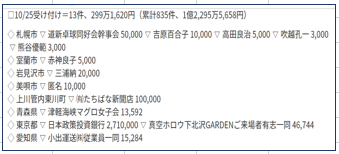 北海道新聞HP掲載