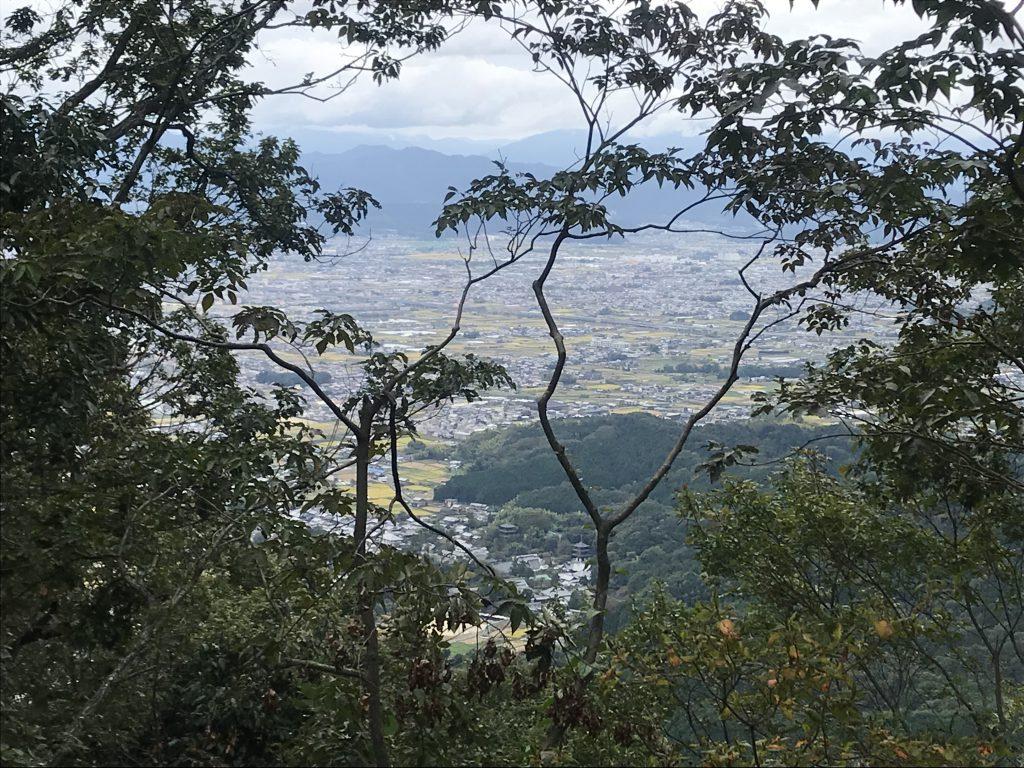 二上山の景色
